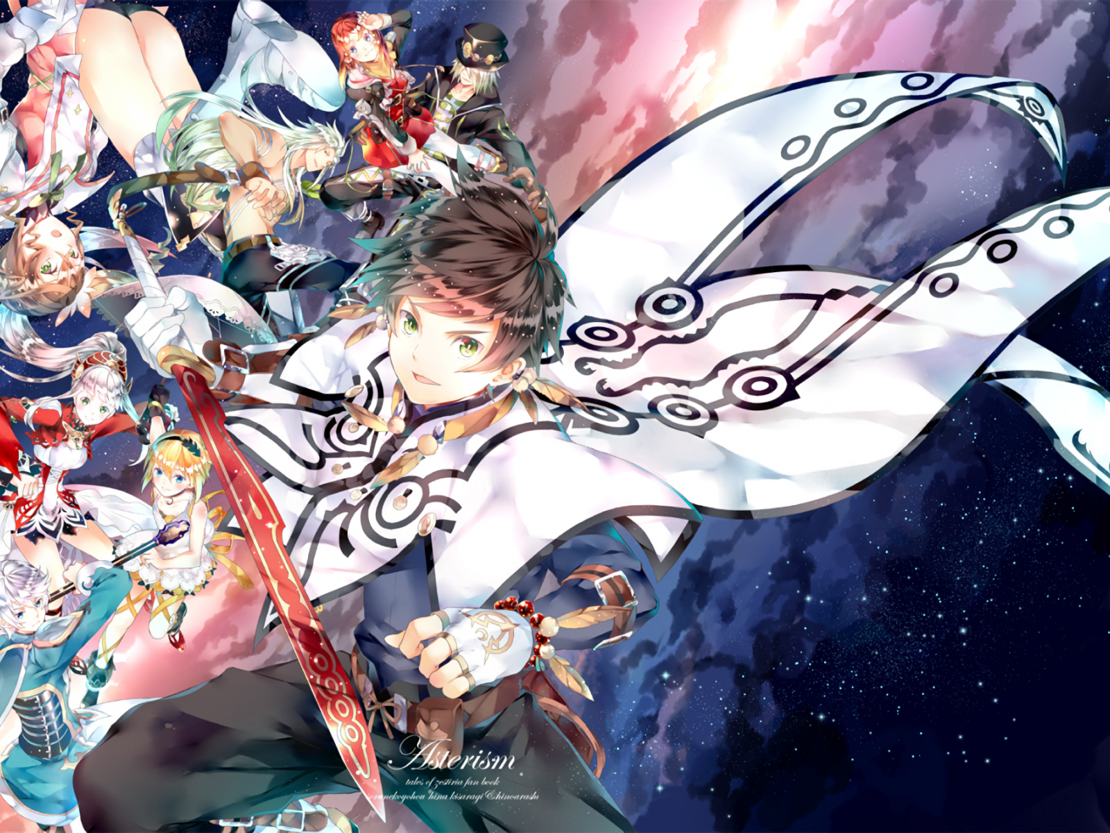 Tales Of Zestiria A Time Of Guidance , HD Wallpaper & Backgrounds