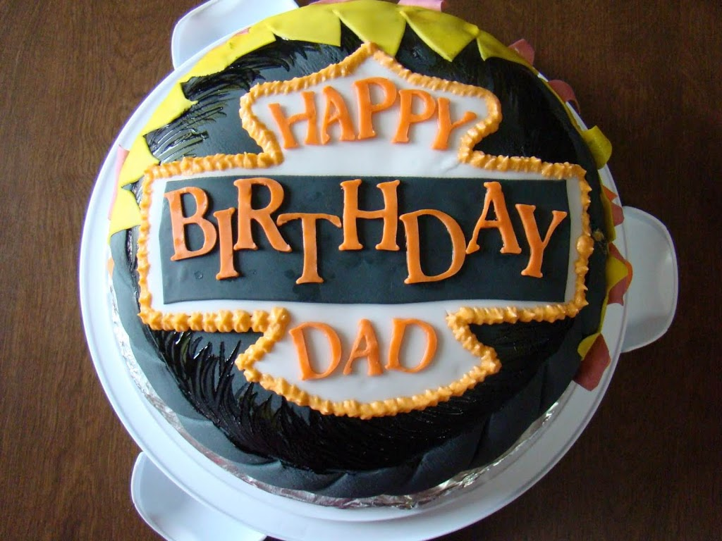 Outstanding Happy Birthday Father Cake Photo Cake Happy Birthday Papa Personalised Birthday Cards Veneteletsinfo