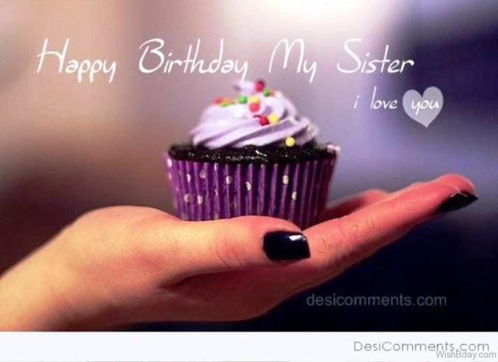 Sensational I Love My Sister Wallpaper Happy Birthday Sister Hd 671898 Funny Birthday Cards Online Necthendildamsfinfo