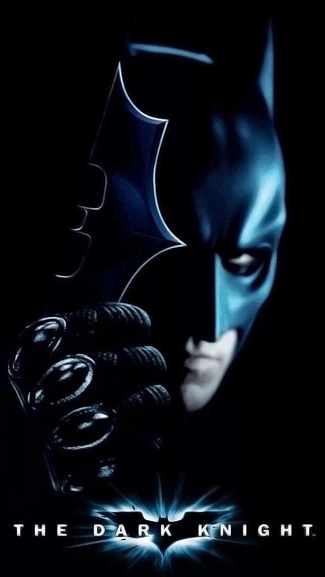 The Dark Kinght Iphone Wallpaper Download - Batman The Dark Knight , HD Wallpaper & Backgrounds
