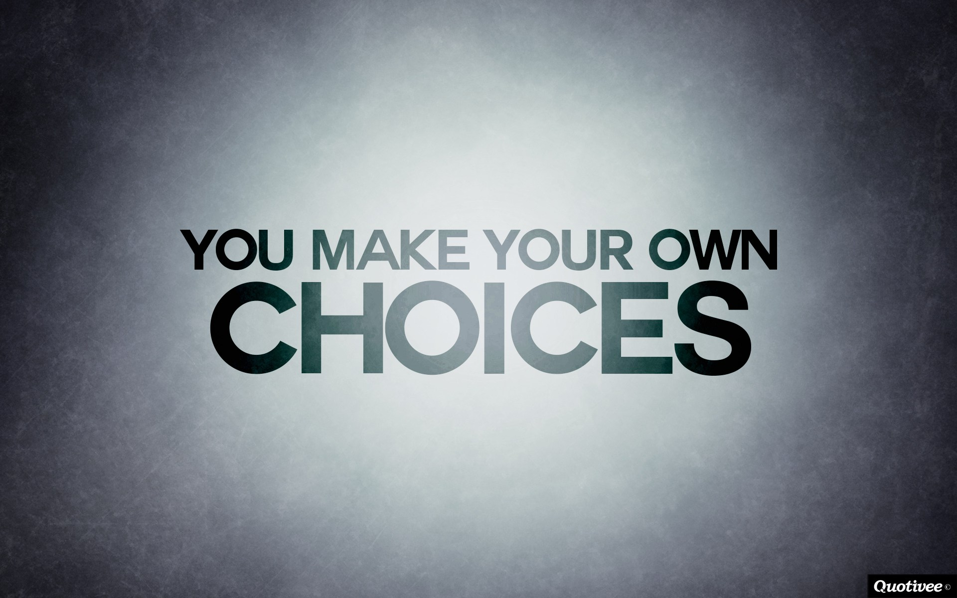 Text Name Wallpaper - You Make Your Own Decisions , HD Wallpaper & Backgrounds