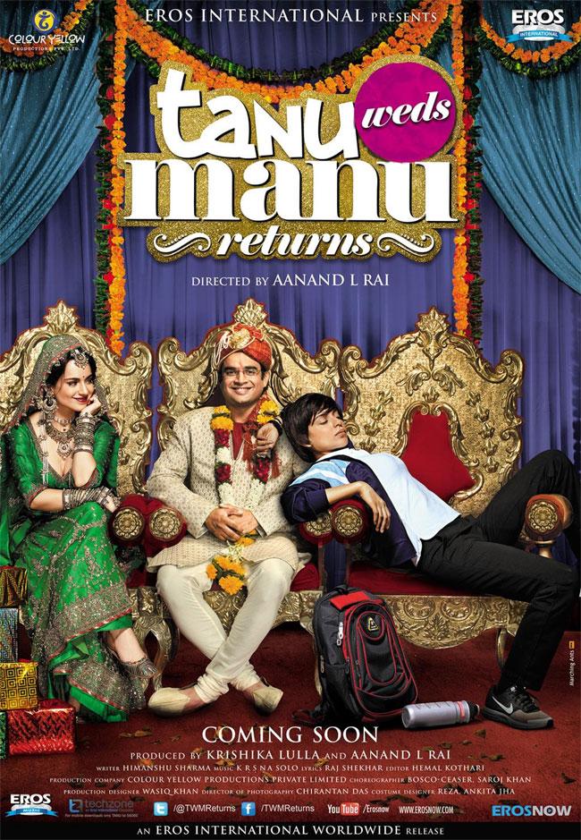 Tanu Weds Manu Returns Songs Image - Tanu Weds Manu 2 Poster , HD Wallpaper & Backgrounds
