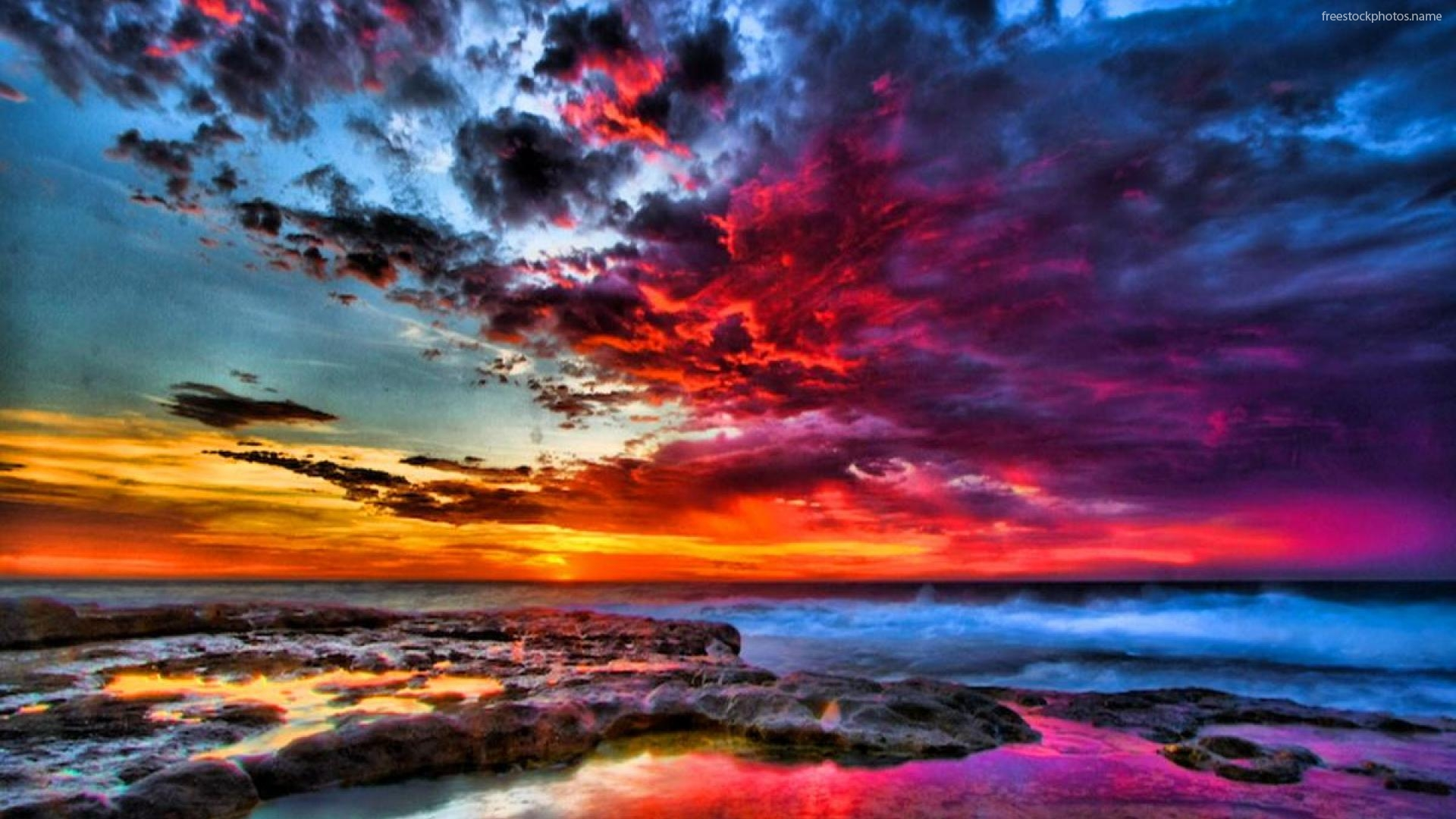 Colourful Sunset Wallpapers Beautiful Sunset New Mexico