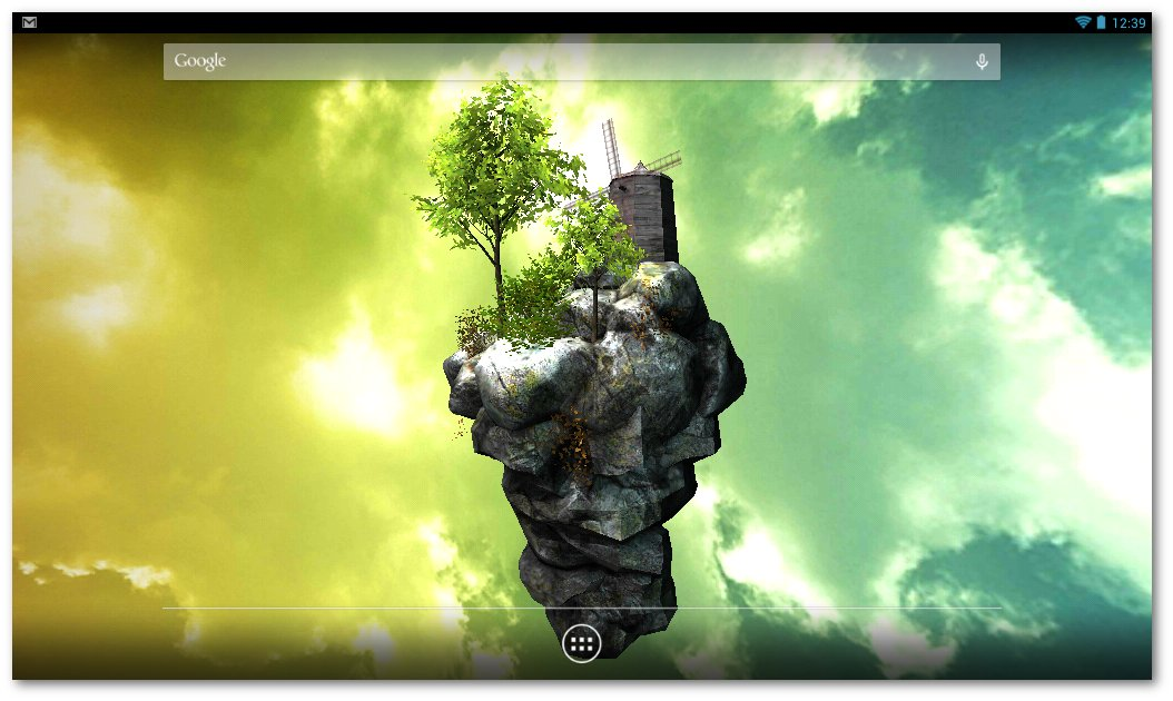 Flyisland 3d - Fondo De Pantalla Para Tablet Canaima , HD Wallpaper & Backgrounds
