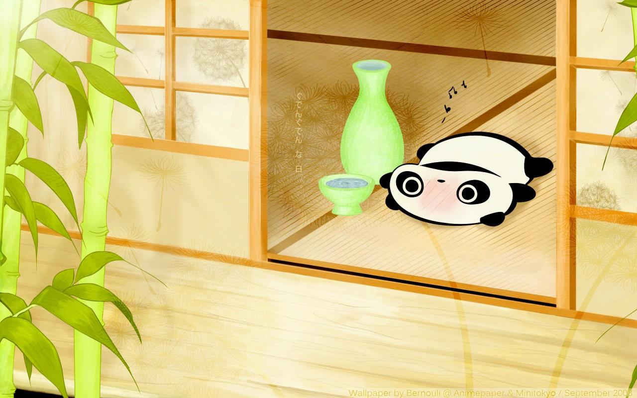 Anime Wallpaper - Tare Panda , HD Wallpaper & Backgrounds