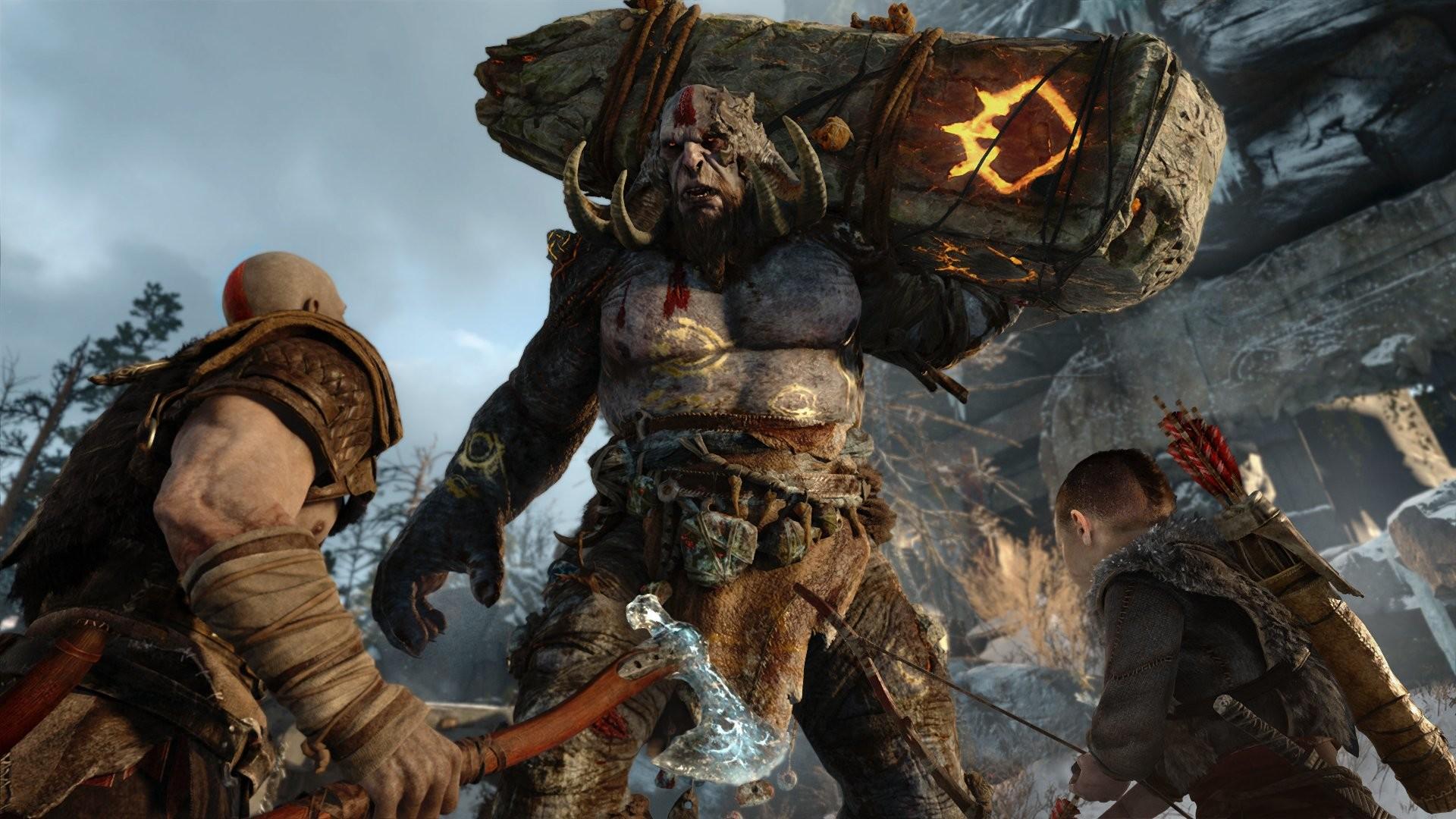 God Of War Wallpaper Hd Dekstop God Of War Ogre 699057