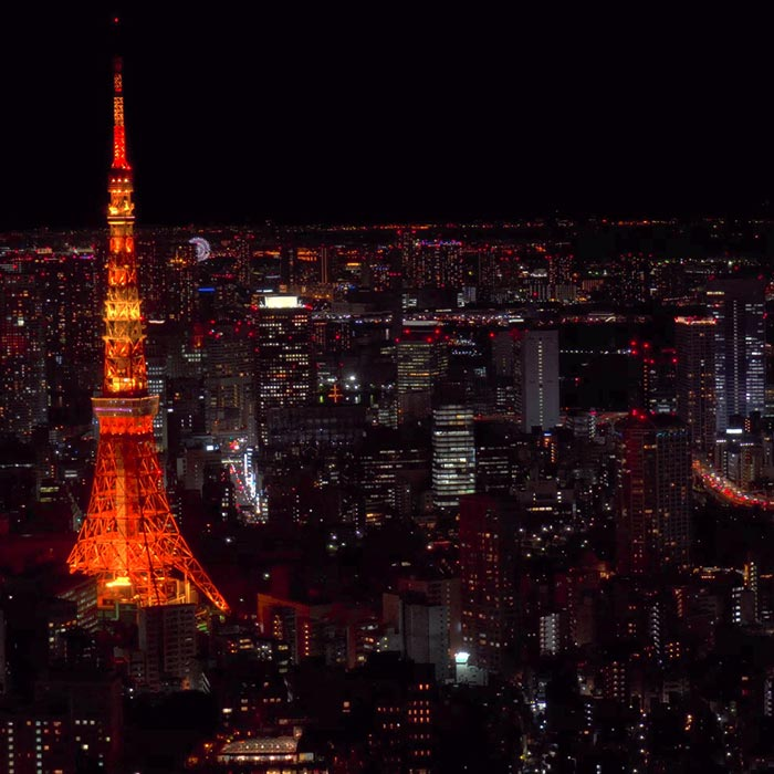 Real 4k Hdr - Tokyo Tower , HD Wallpaper & Backgrounds