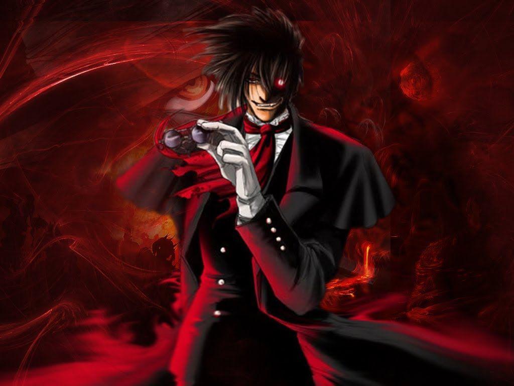 Anime Characters Wallpaper Alucard Hellsing HD