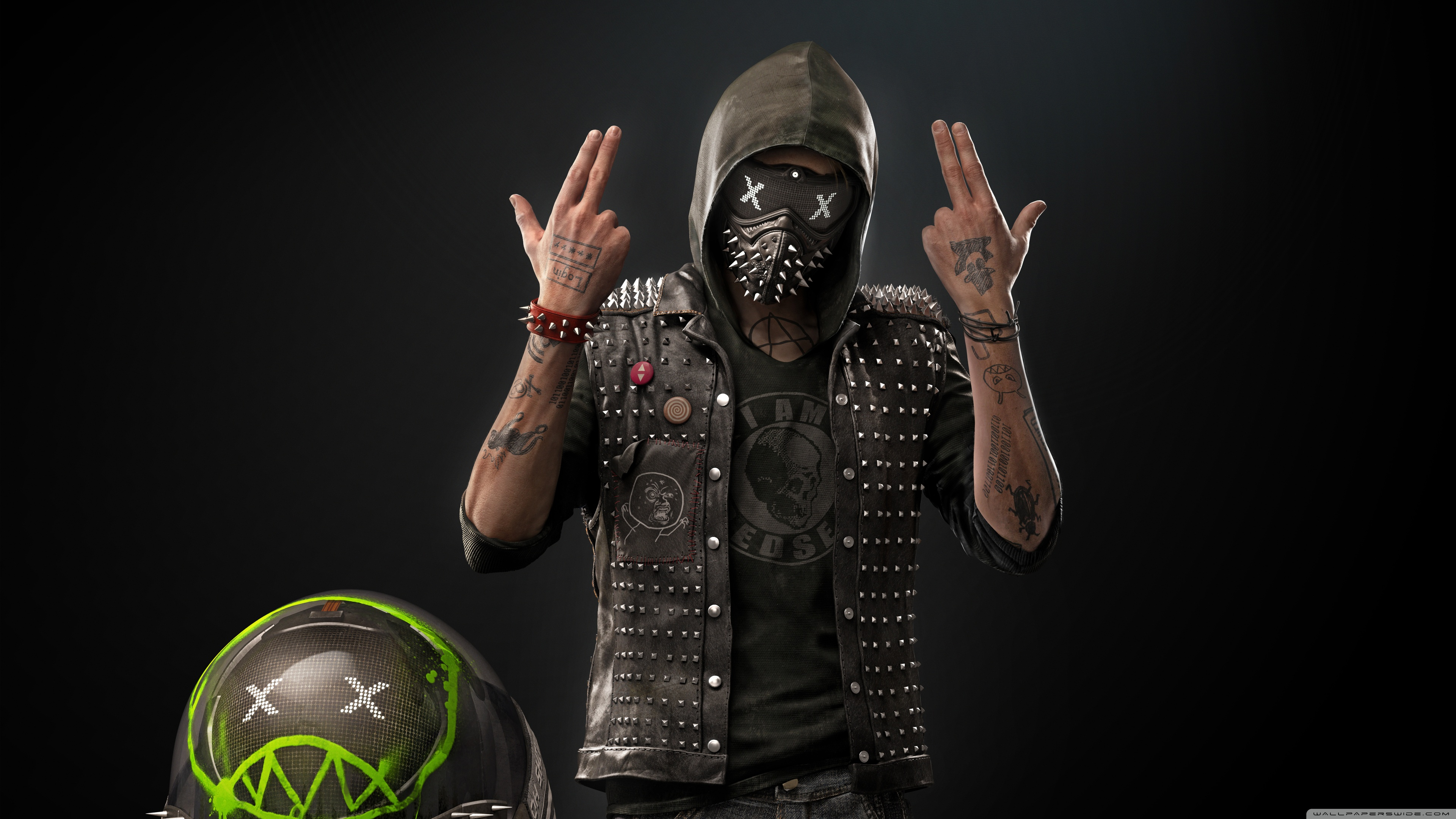 Uhd 16 - - Watch Dogs 2 Wrench , HD Wallpaper & Backgrounds