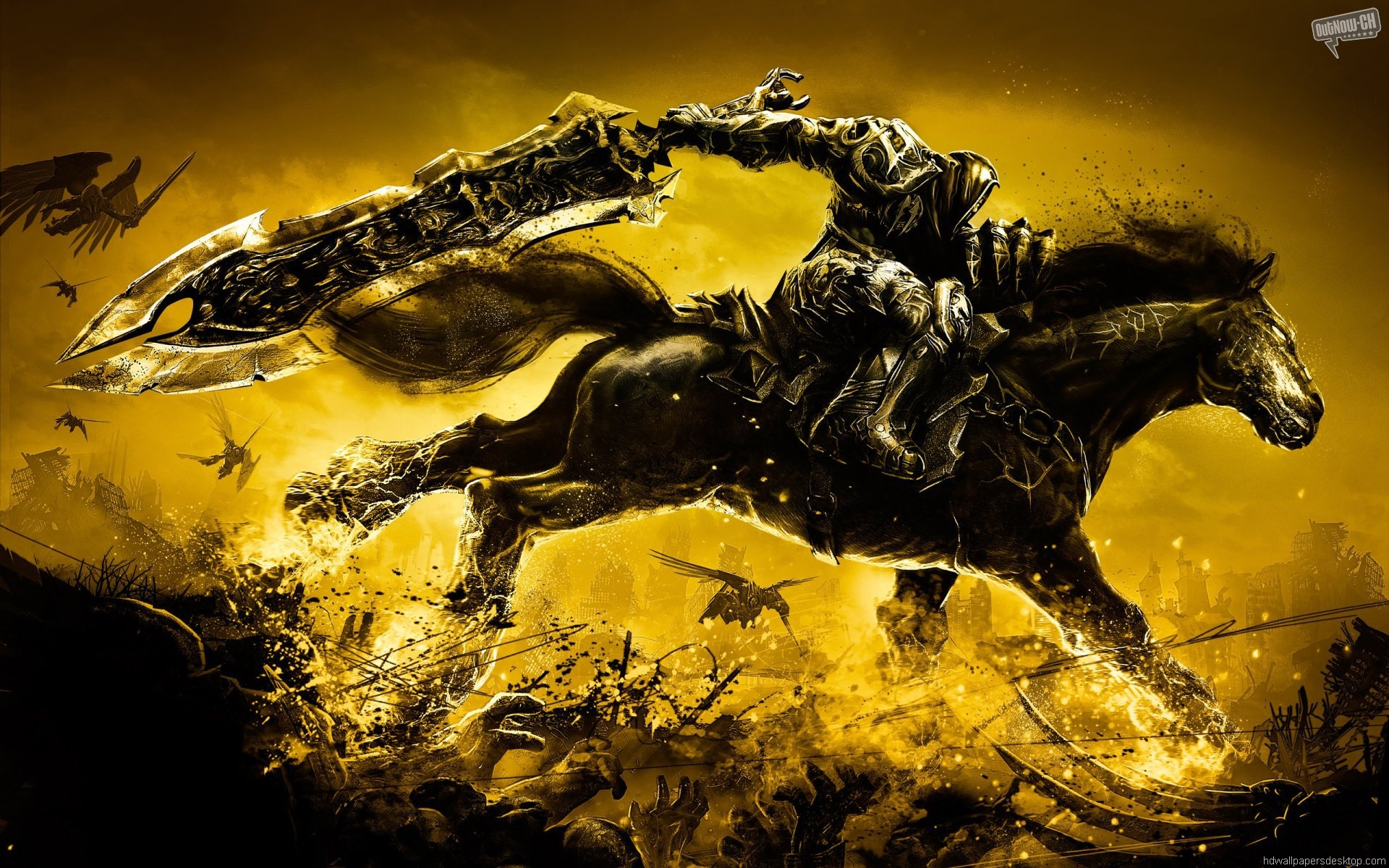 Hd Wallpaper For Computer God Of War Horse 70980 Hd Wallpaper Backgrounds Download