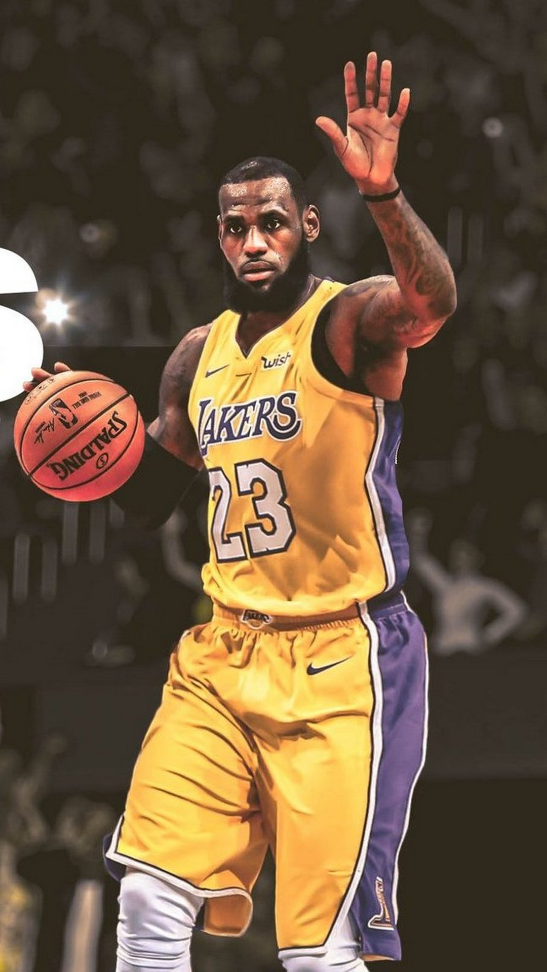 Mobile Wallpapers Lebron James Lakers With High-resolution - Lebron James Silicone Wristband , HD Wallpaper & Backgrounds