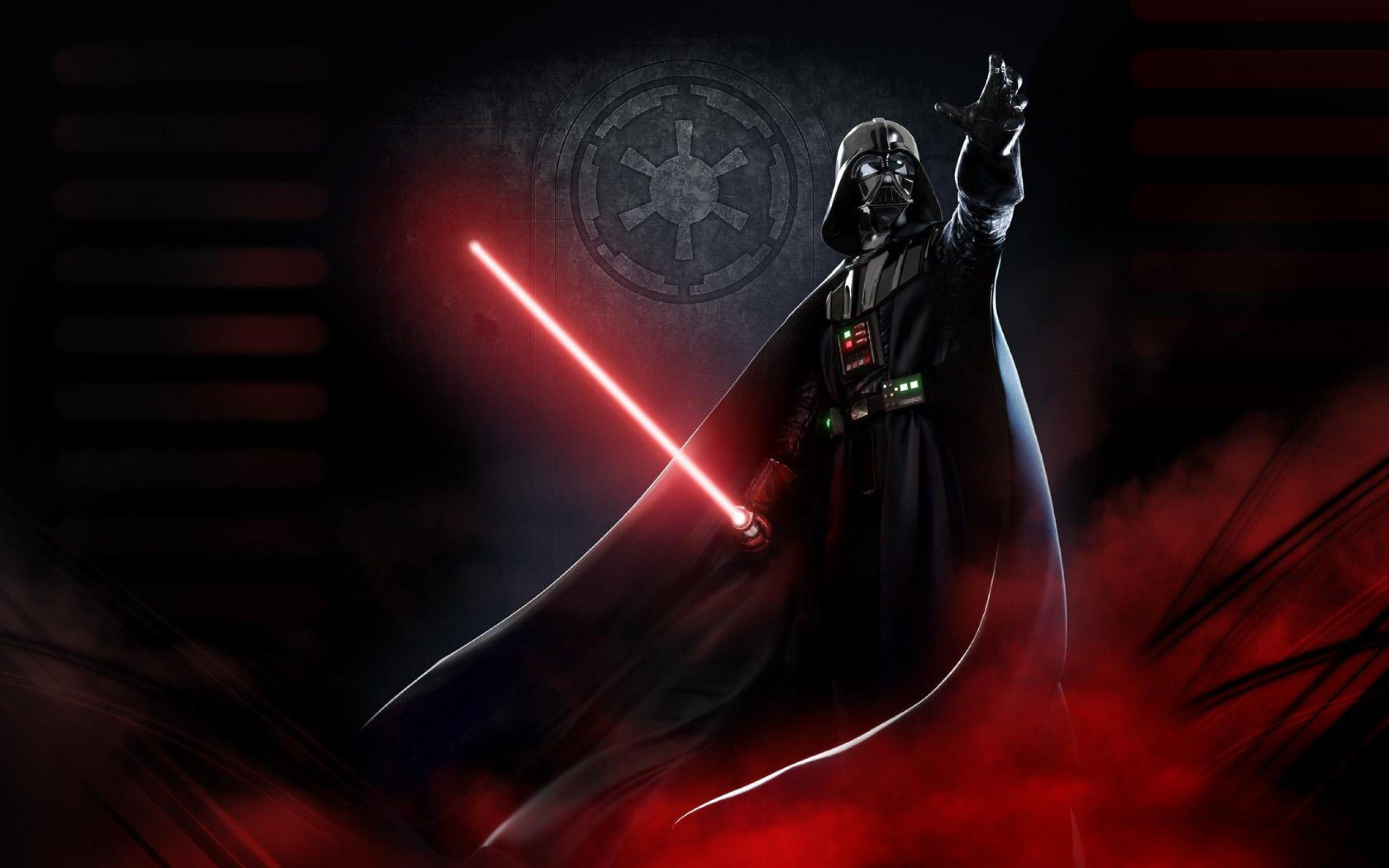 Darth Vader Black And Red , HD Wallpaper & Backgrounds
