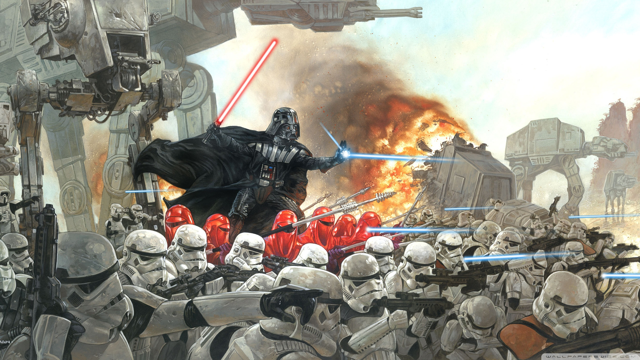 Related Wallpapers - Darth Vader In Battle , HD Wallpaper & Backgrounds