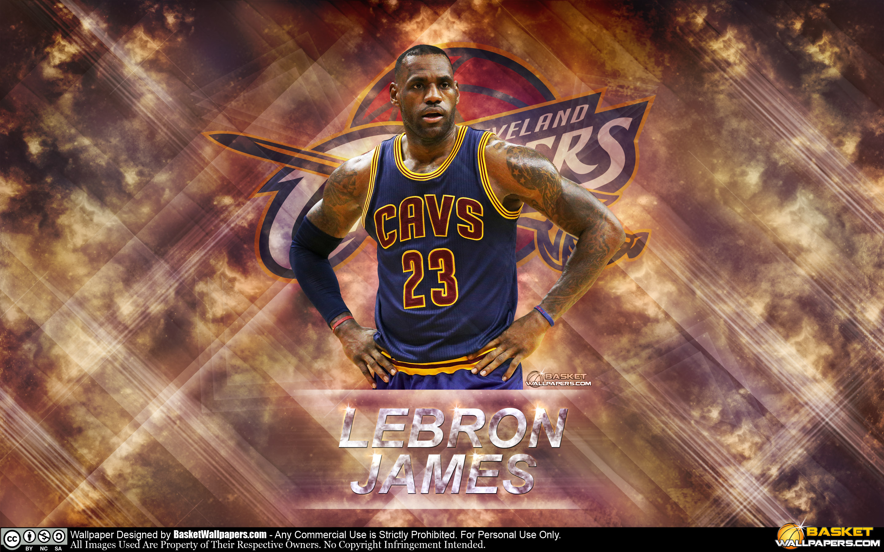 Lebron James Cavs Wallpapers Widescreen On High Resolution - Lebron James Background Cavs , HD Wallpaper & Backgrounds