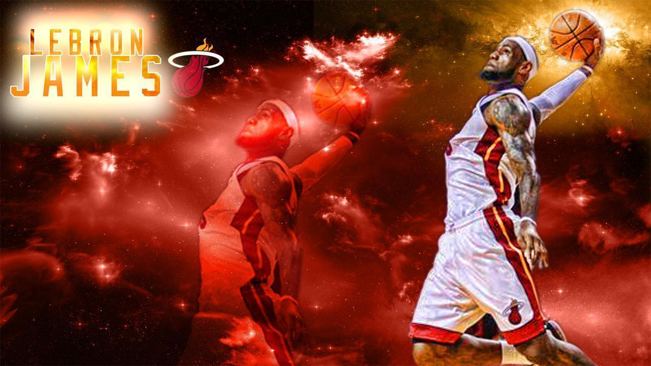 Lebron James Wallpaper Miami Heat 71533 Hd Wallpaper