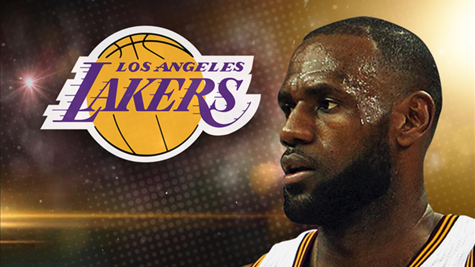 Lakers And James - Lebron James Lakers 2019 , HD Wallpaper & Backgrounds