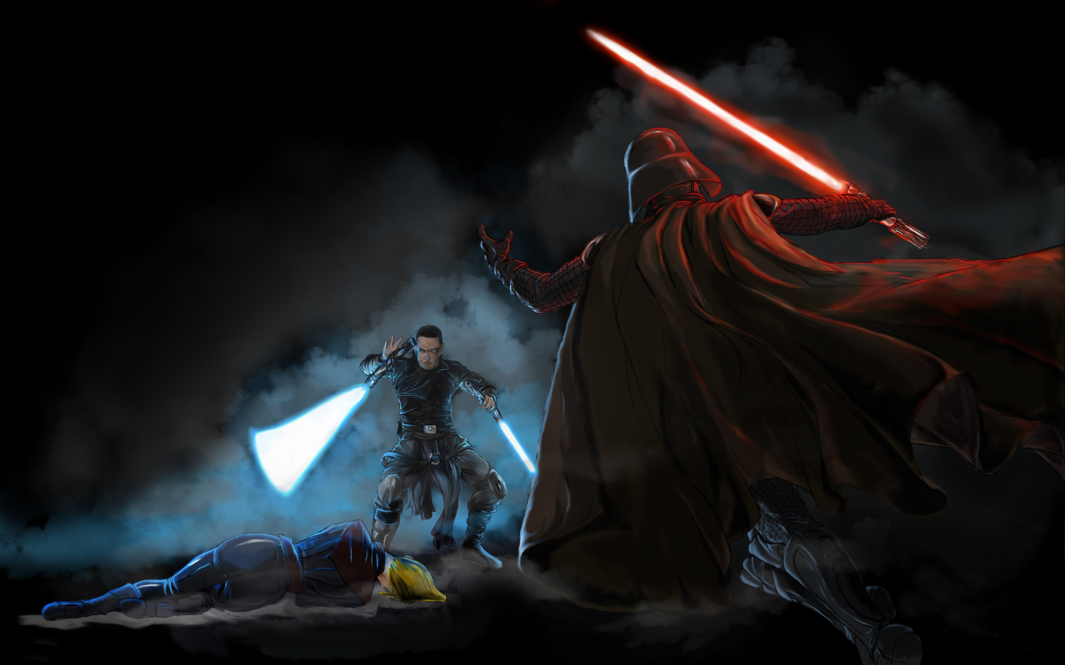 Star Wars Artwork Darth Vader Wallpapers Hd Desktop