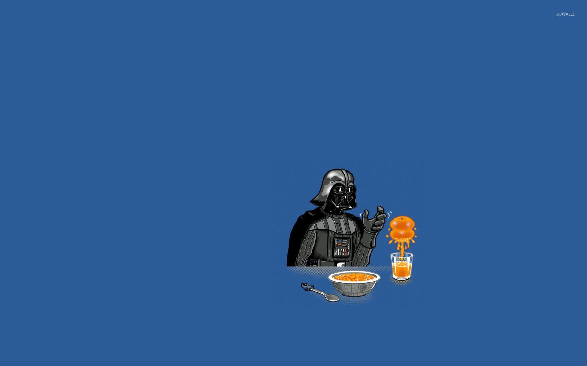 Darth Vader Making Orange Juice Wallpaper - Darth Vader , HD Wallpaper & Backgrounds