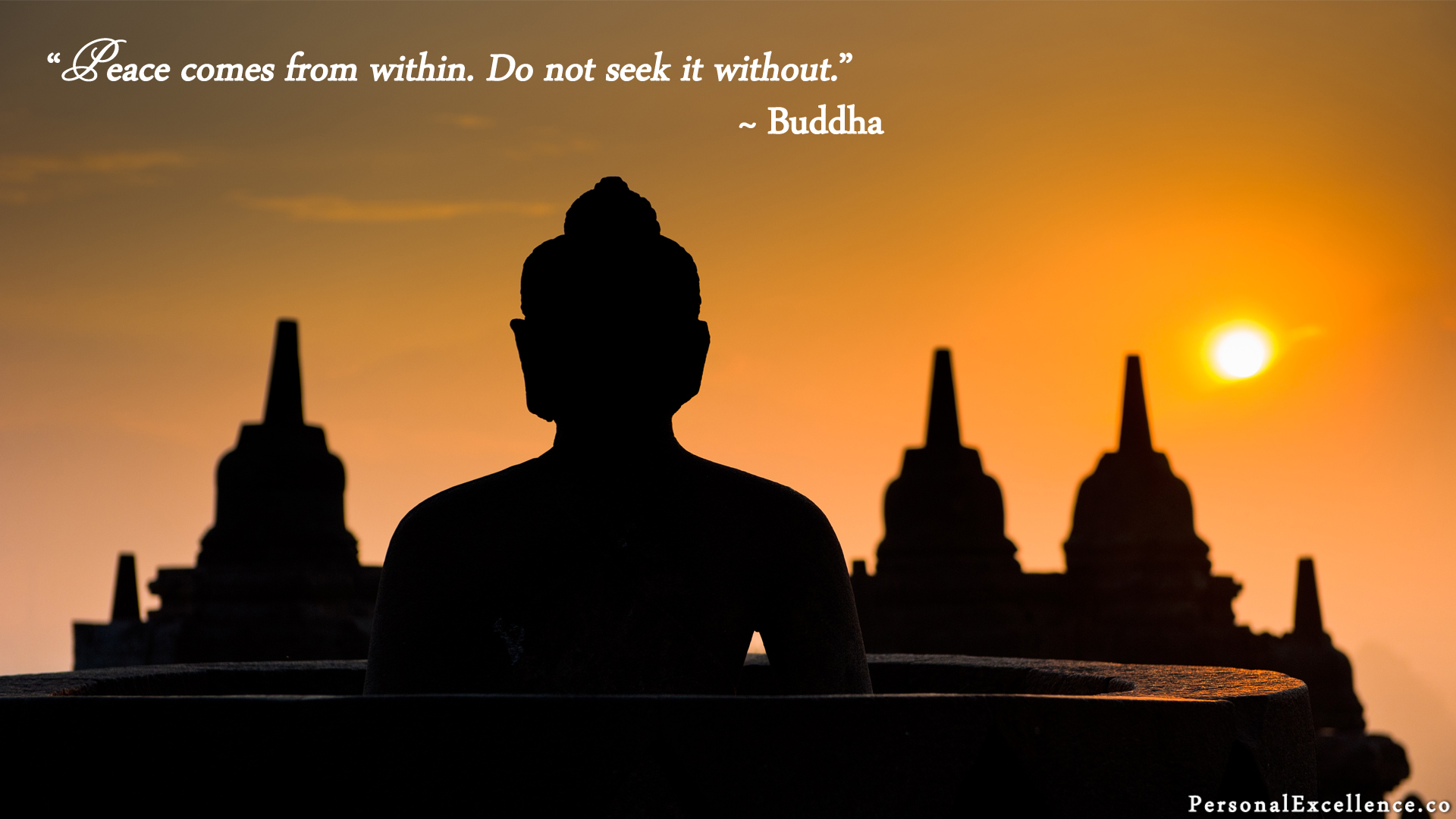 Motivational Photos Without Quotes With 15 Beautiful - Borobudur , HD Wallpaper & Backgrounds