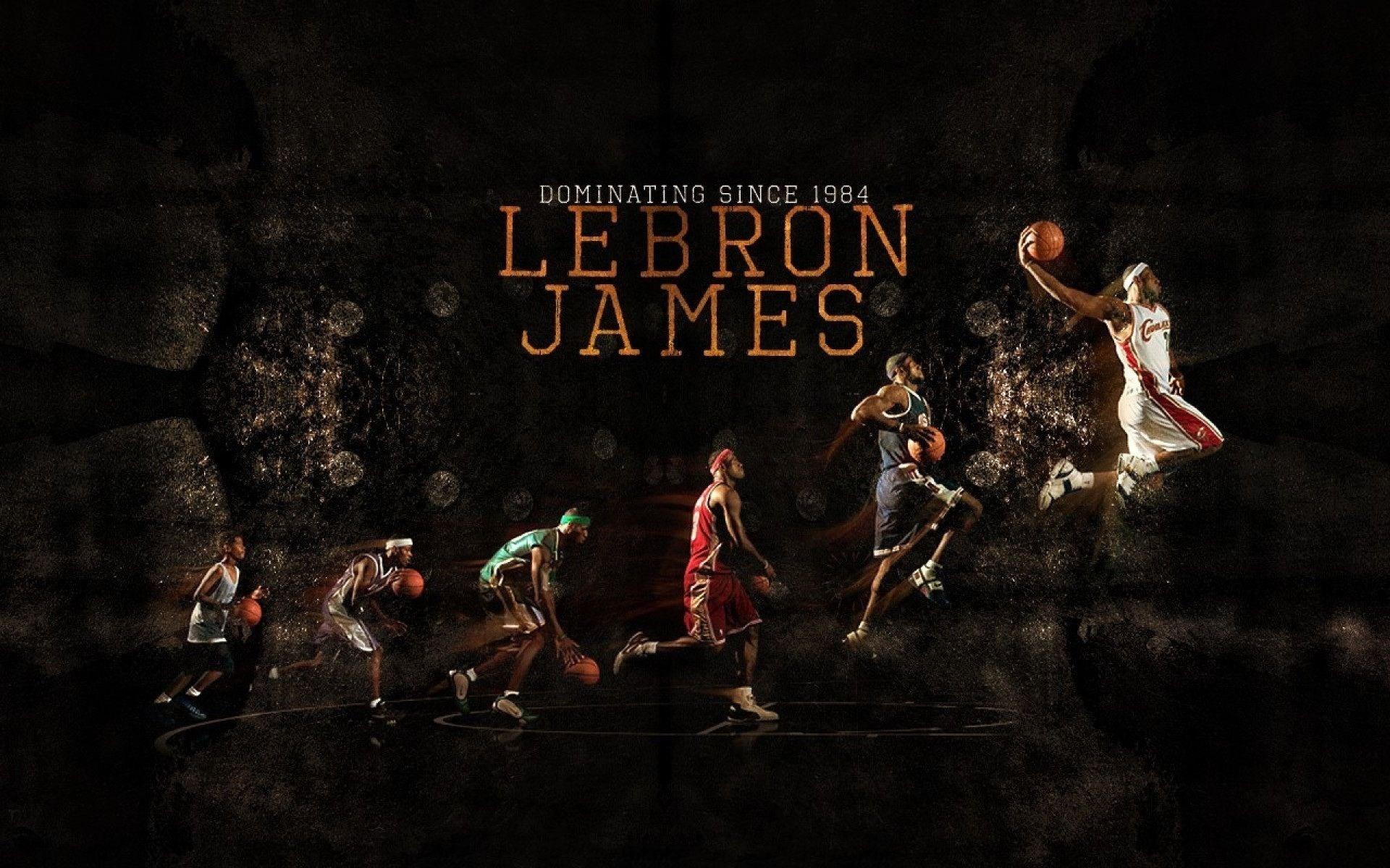 Lebron James Evolution Poster , HD Wallpaper & Backgrounds