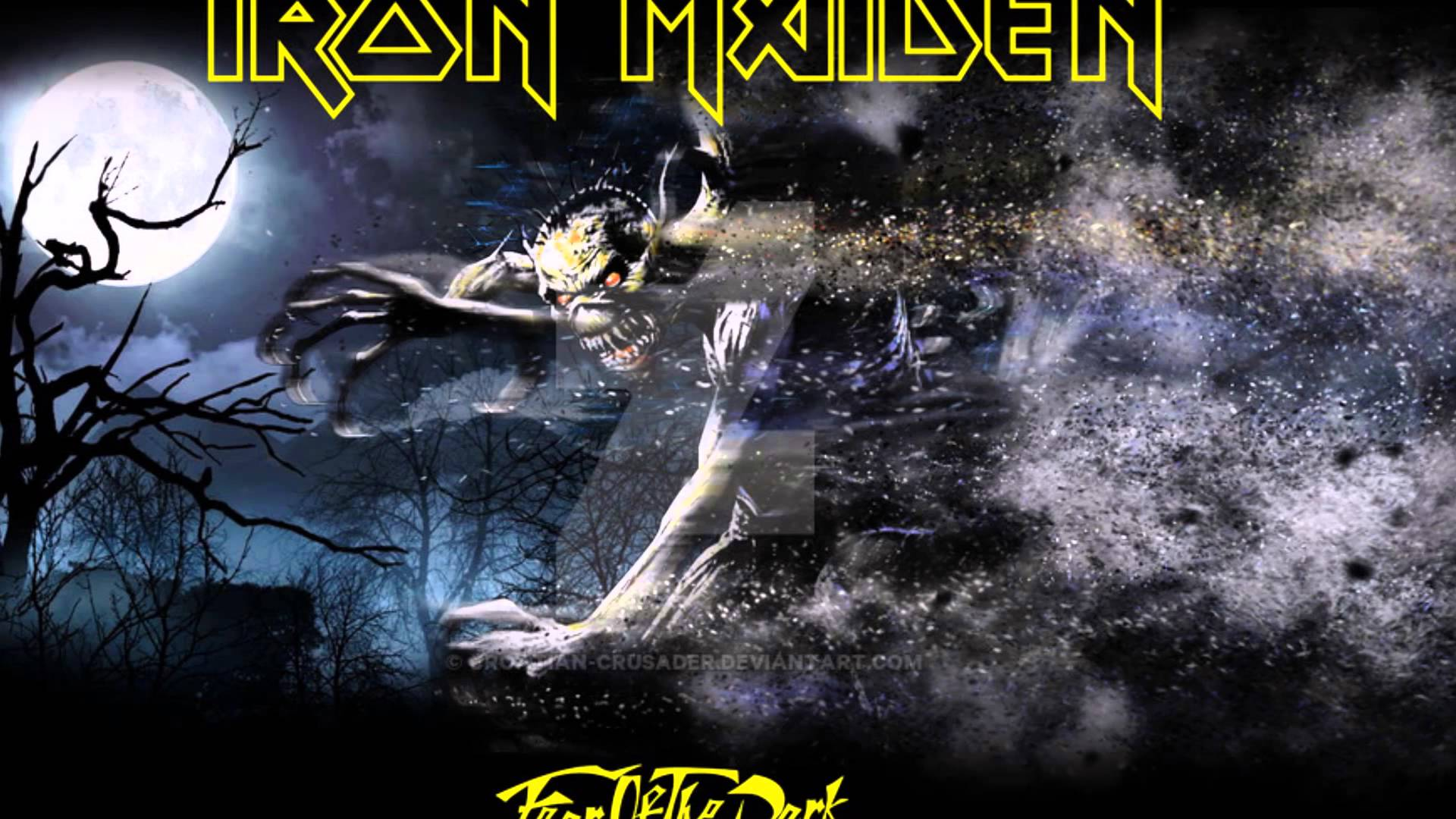 Iron Maiden Fear Of The Dark Wallpapers Photo On Wallpaper