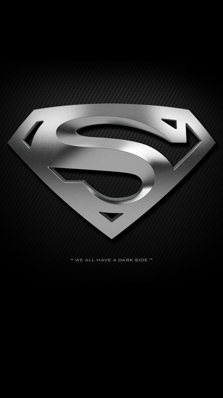 Black Superman Logo Wallpaper Iphone Resolution Superman