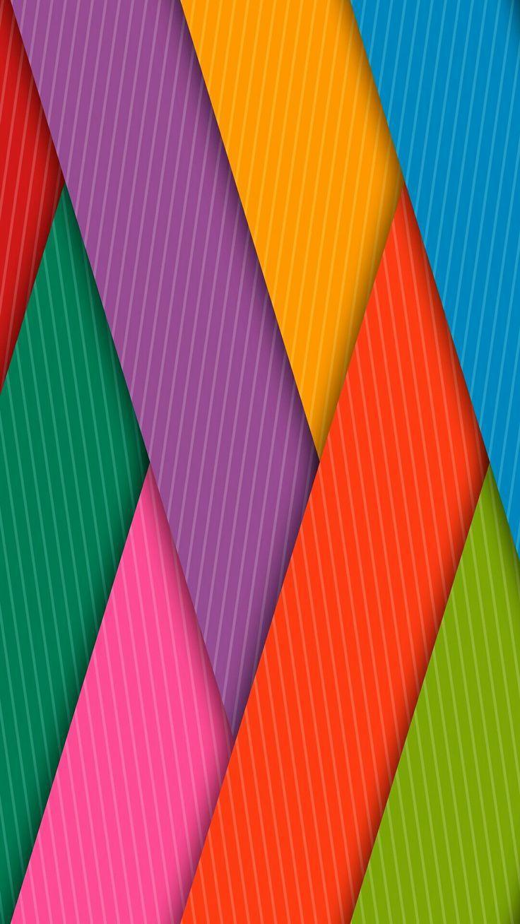 Mobile Wallpaper Wallpaper Iphone - Rainbow Colors Wallpaper Iphone , HD Wallpaper & Backgrounds