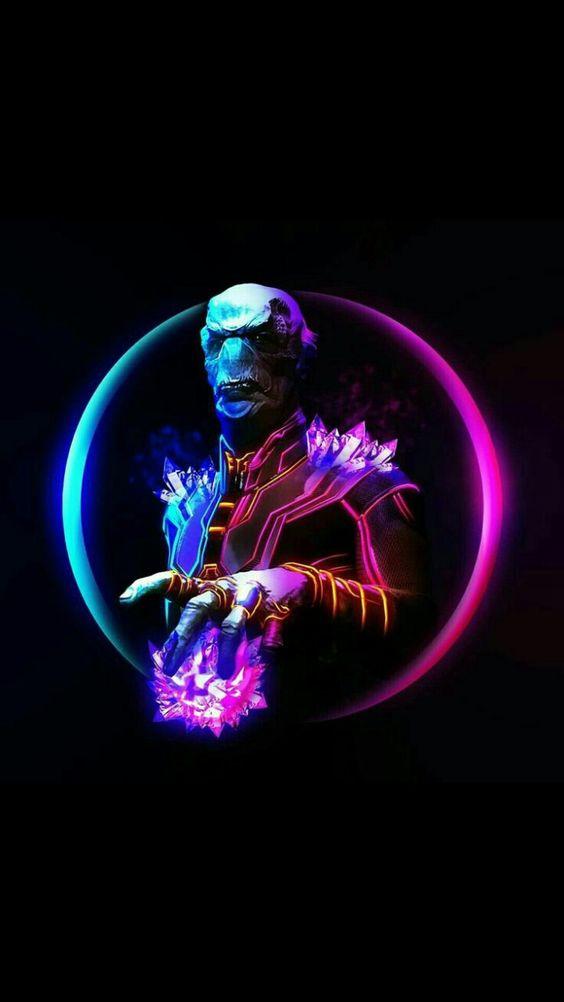Marvel Neon - Fauce De Ebano Marvel , HD Wallpaper & Backgrounds