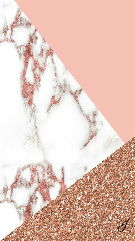 Fundo Para Celular Rose Gold , Dourado Com Branco - Rose Gold Cute Backgrounds , HD Wallpaper & Backgrounds