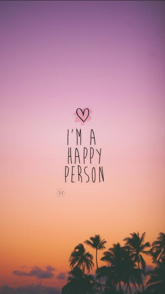 Lindo Wallpaper Para Celular Ios Phone Iphone Android - Am A Happy Person , HD Wallpaper & Backgrounds