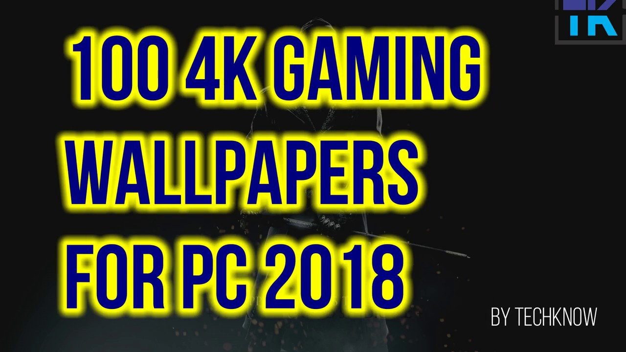 100 4k Gaming Wallpapers Free Download - Best Games Pc Wallpapers 4k , HD Wallpaper & Backgrounds