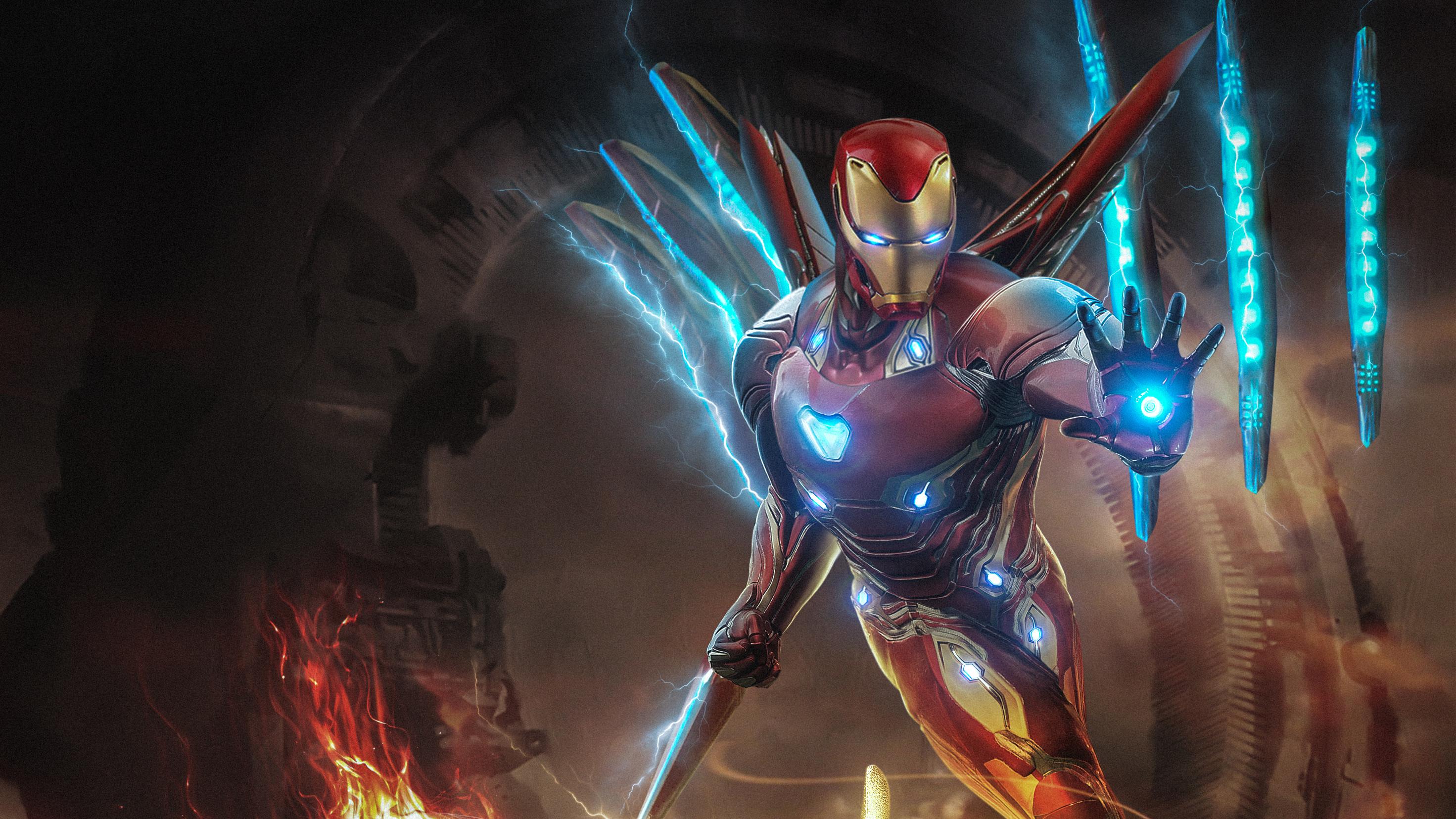 Movie Avengers Endgame The Avengers Iron Man Hd Wallpaper Iron