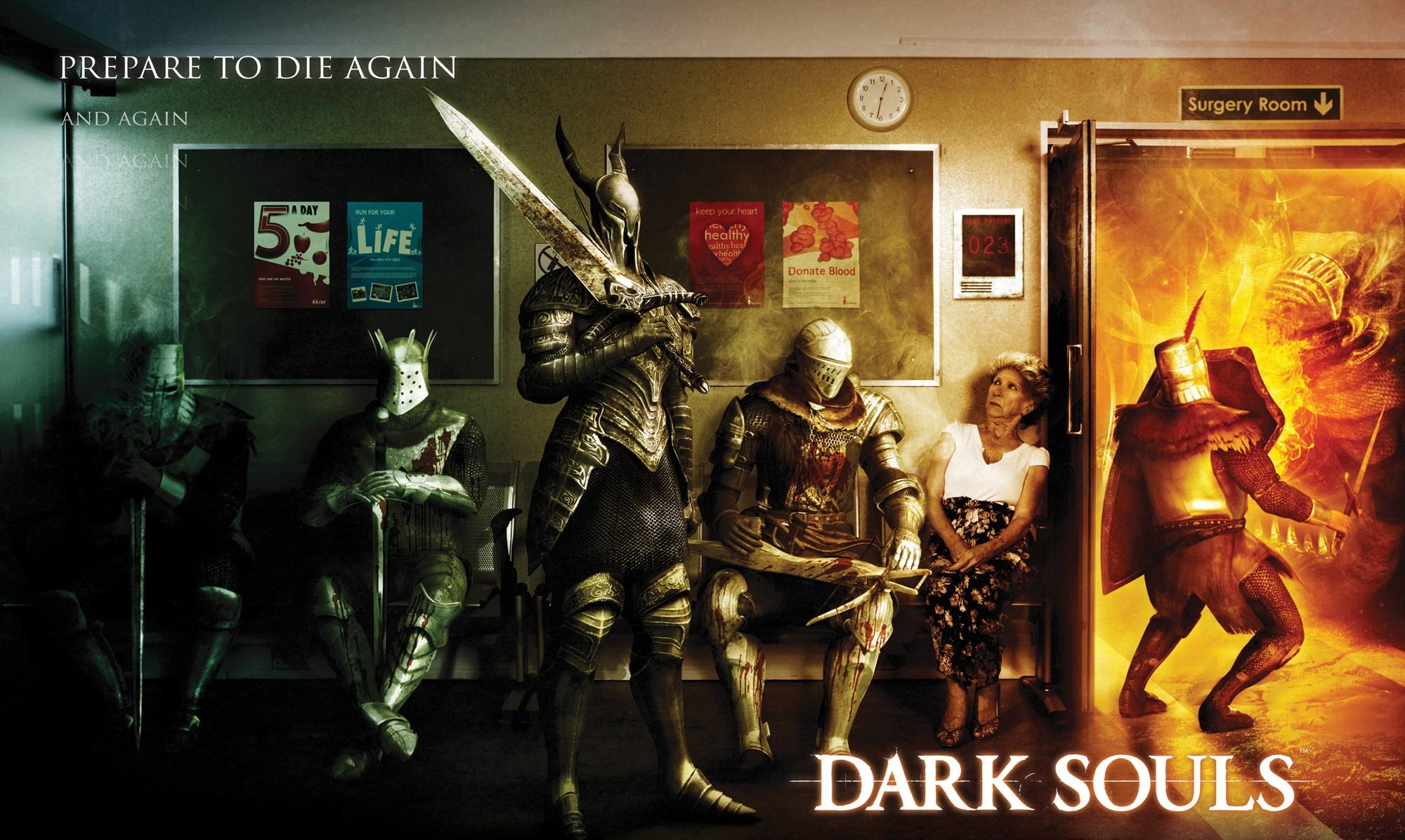 Hd Wallpaper Dark Souls Prepare To Die Again 75089 Hd