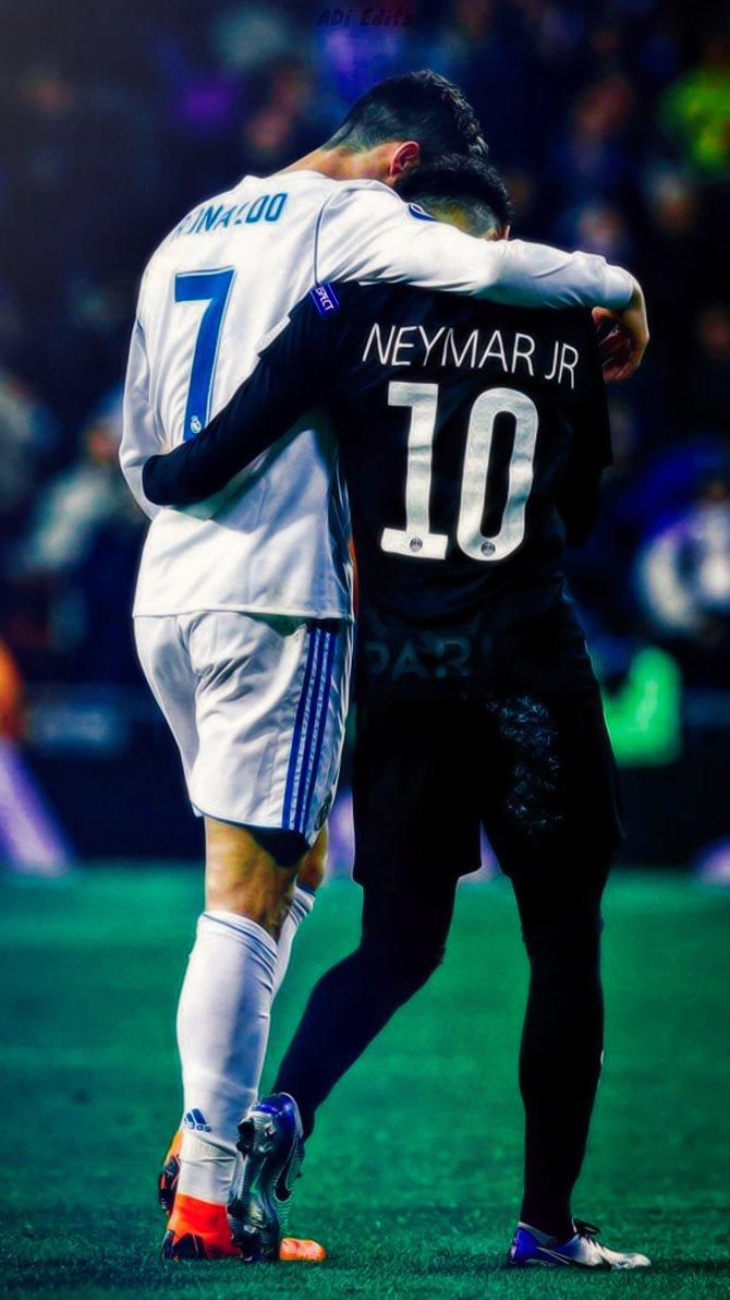 Neymar Wallpaper 2018 Hd - Cristiano Ronaldo E Neymar , HD Wallpaper & Backgrounds