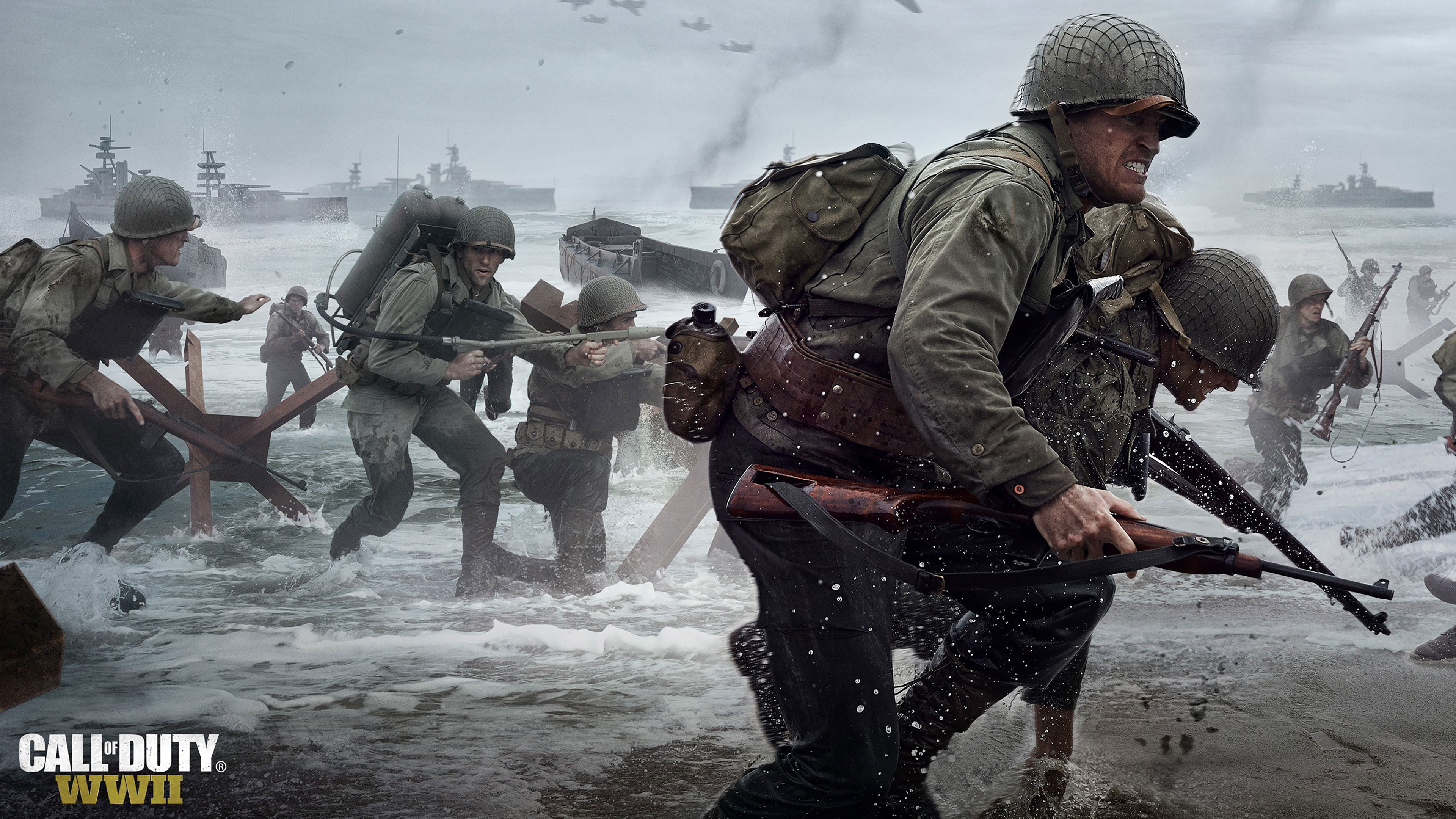4k Gaming Wallpaper For Mobile Image Gallery - Call Of Duty Ww2 Wallpaper 4k , HD Wallpaper & Backgrounds