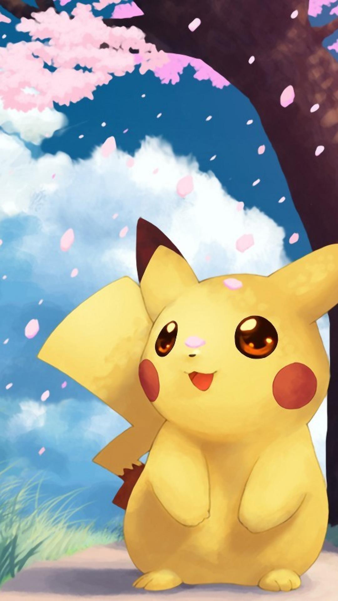 Pokemon Iphone Wallpaper Cute Pikachu Wallpaper For Mobile
