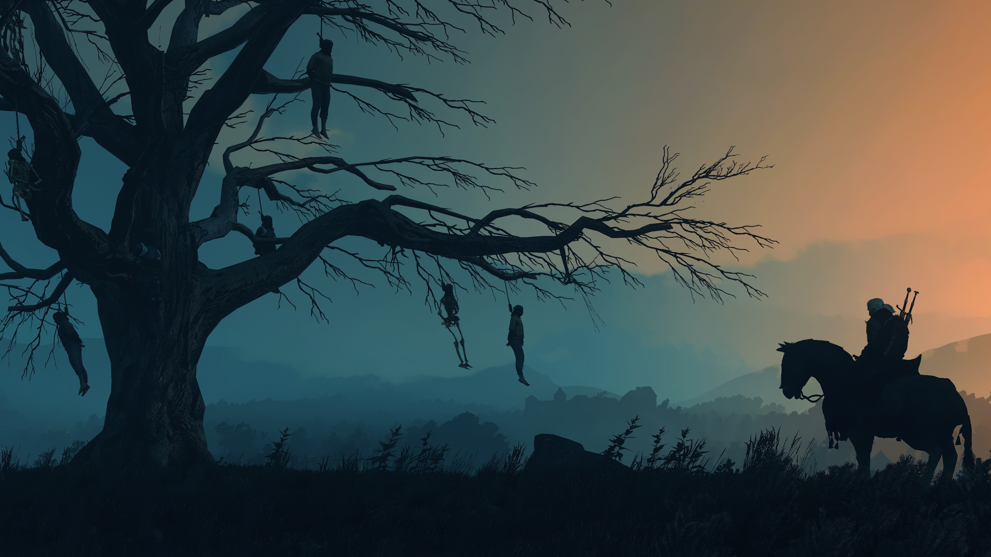The Witcher 3 Wild Hunt Minimalist Wallpaper Witcher 3