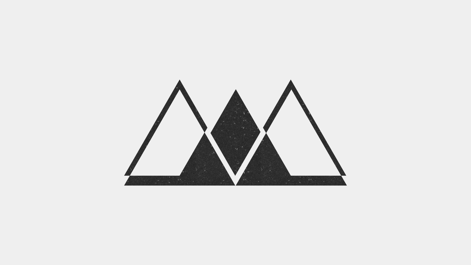 Nathan Timberlake Minimalism Wallpaper 44 2 - Triangle , HD Wallpaper & Backgrounds