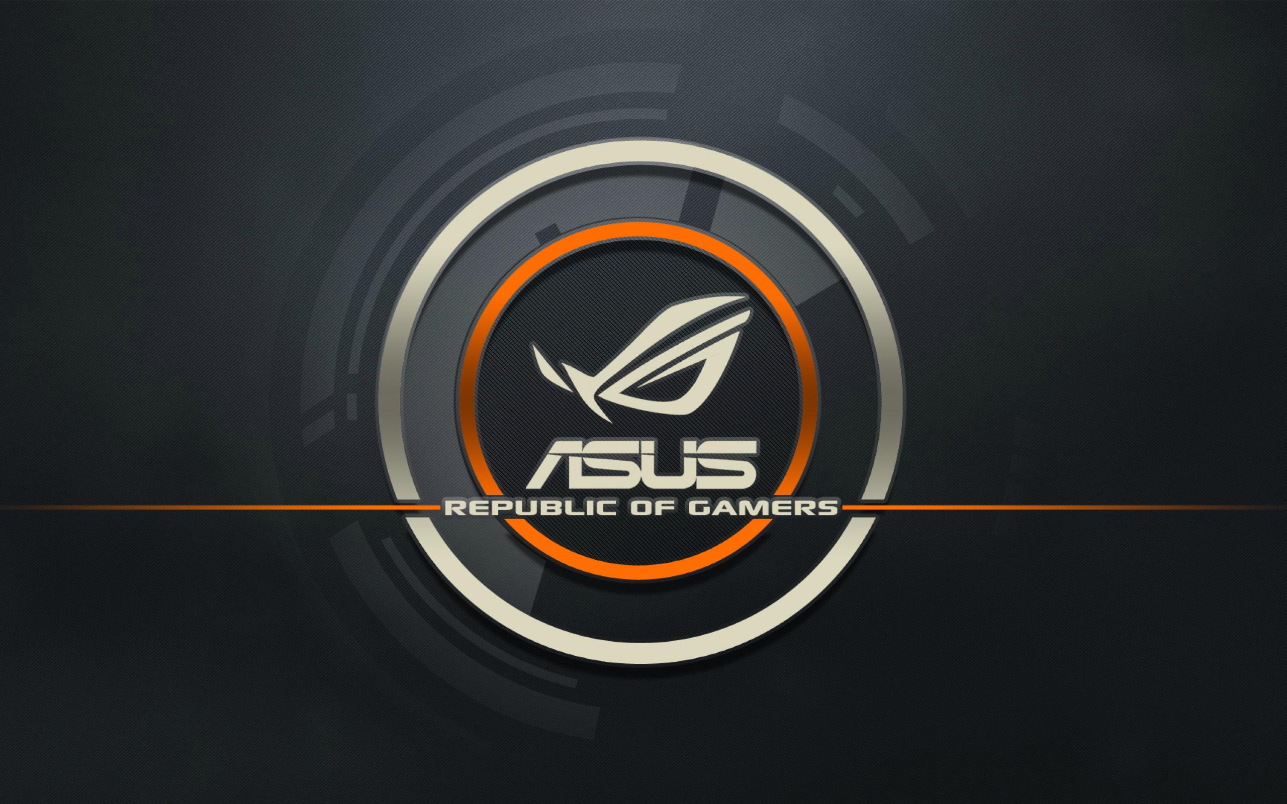 Wallpaper Asus, Logo, Republic Of Gamers, Computer - Ultra Hd 4k Asus , HD Wallpaper & Backgrounds