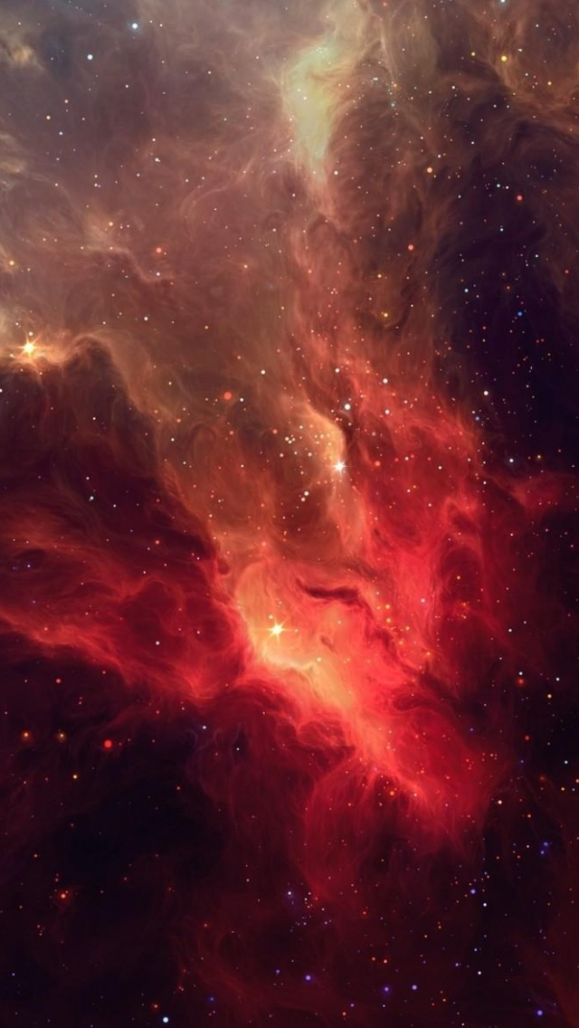 Hd Iphone Wallpaper Iphone 6 Wallpaper Red Galaxy 77580