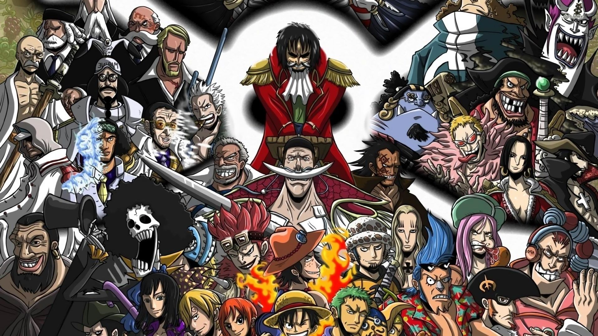 One Piece Wallpaper Full Hd - One Piece Full Hd , HD Wallpaper & Backgrounds