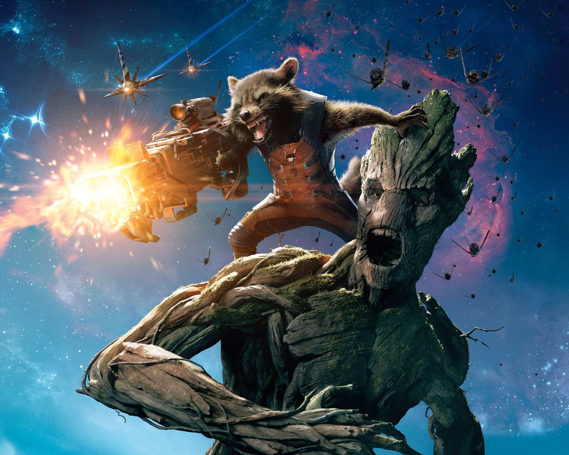 177 Guardians Of The Galaxy Hd Wallpapers - Galaxy Guardians , HD Wallpaper & Backgrounds