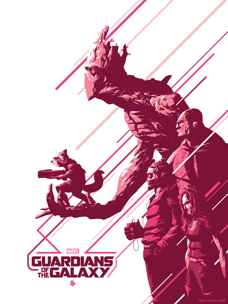 Guardians Of The Galaxy Has The Best Posters - Alternative Movie Posters Guardians Of The Galaxy , HD Wallpaper & Backgrounds