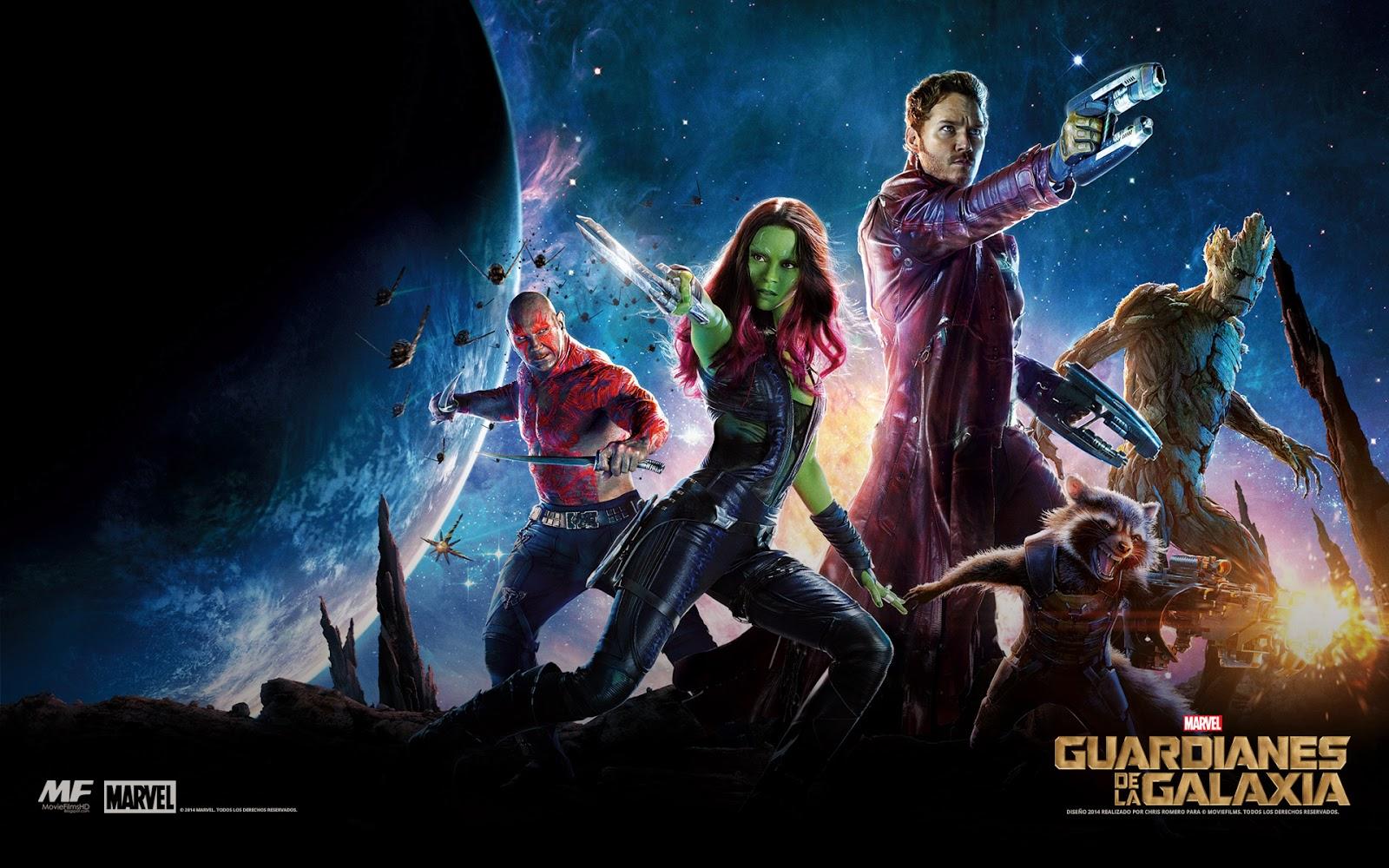 Wallpaper Latino De Guardianes De La Galaxia - Guardians Of The Galaxy Vol 1 Netflix , HD Wallpaper & Backgrounds