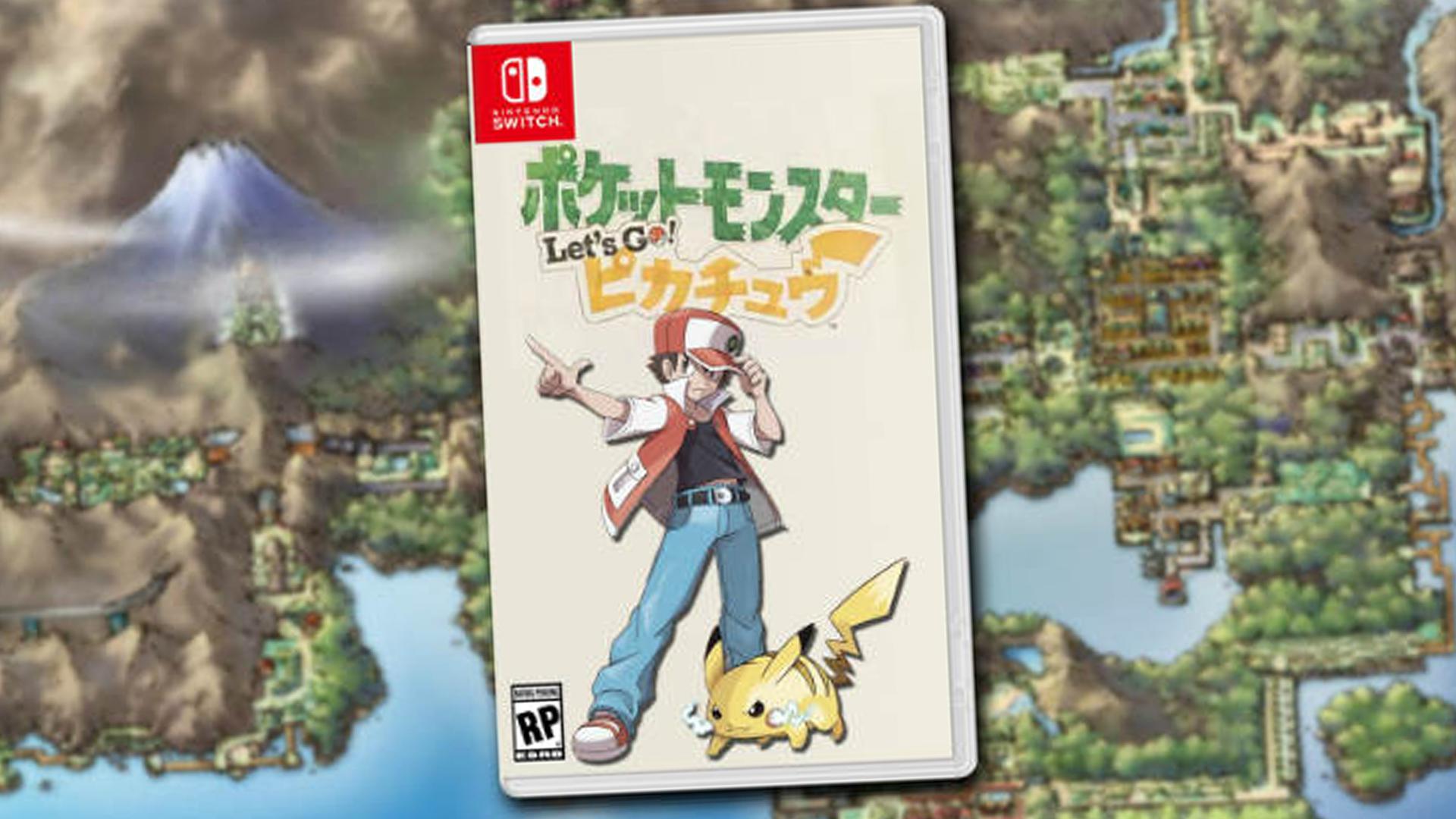 Pokémon Let´s Go Sería Producto Del Port No Lanzando - Lets Go Pikachu Kanto , HD Wallpaper & Backgrounds