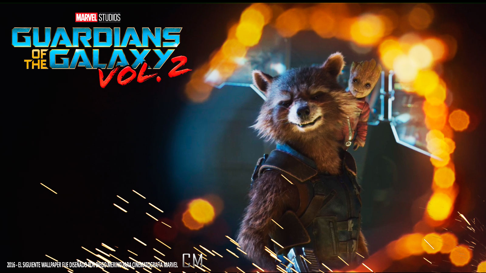 Guardianes De La Galaxia Vol - Rocket Raccoon Smiling Gif , HD Wallpaper & Backgrounds