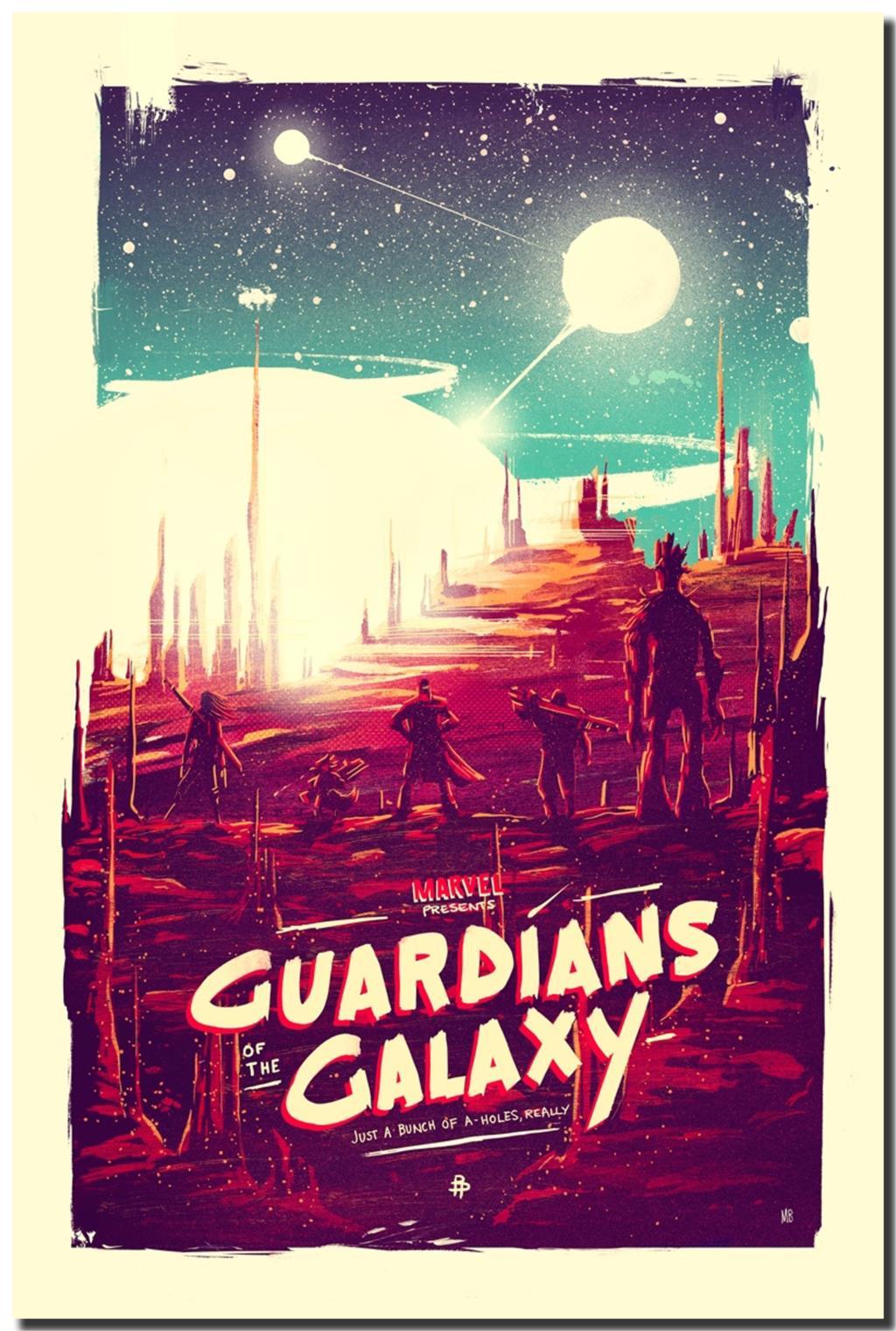 Mt Películas De Ciencia Ficción Guardianes De La Galaxia - Guardian Of The Galaxy Art , HD Wallpaper & Backgrounds