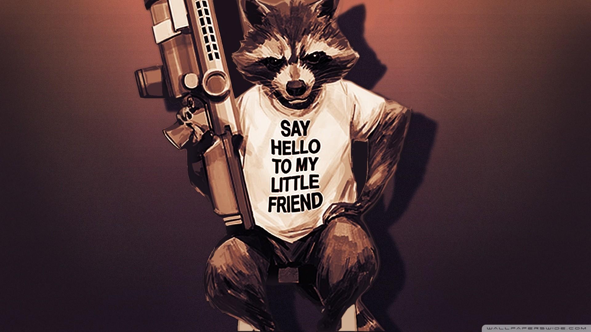 #rocket Raccoon, #guardians Of The Galaxy Wallpaper - Hd Guardian Of Galaxy , HD Wallpaper & Backgrounds