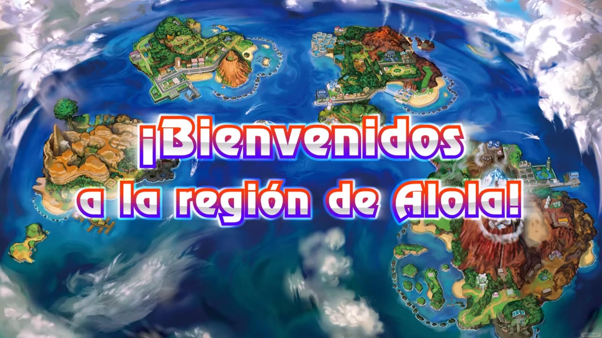 1606-02 Pokémon Sol Y Luna10 - Pokemon Sun And Moon World , HD Wallpaper & Backgrounds