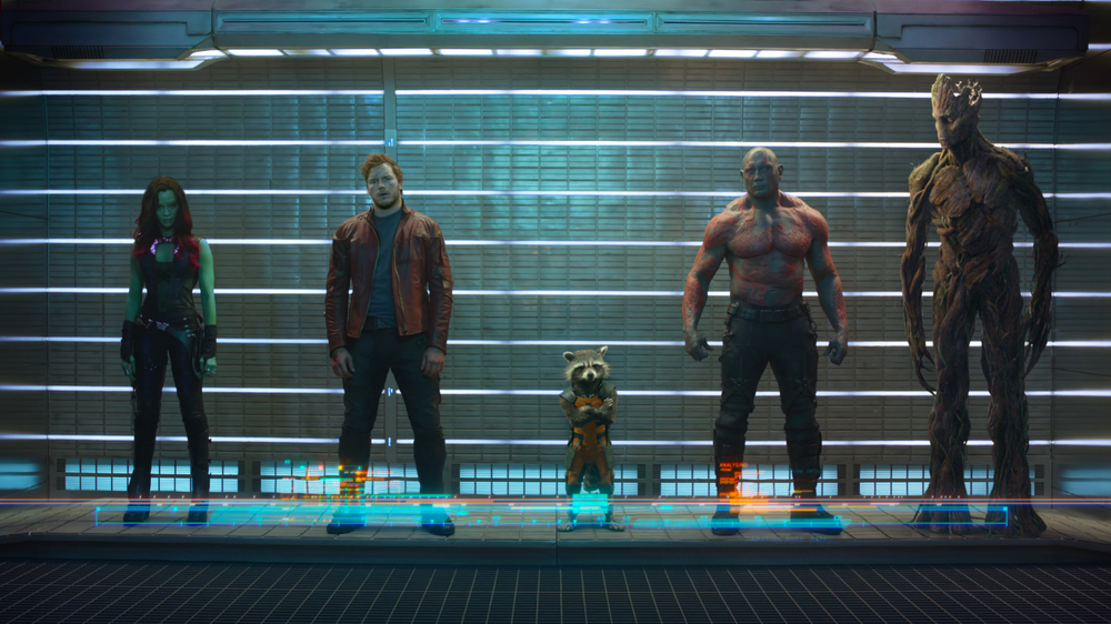 Marvel Movies Images Guardians Of The Galaxy First - Guardians Of The Galaxy Members Movie , HD Wallpaper & Backgrounds